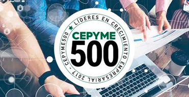 BME sponsors CEPYME 500