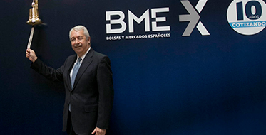 BME, 10 years as a listed company