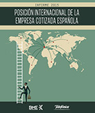 Report on the internationalization of Spanish listed companies 2015.